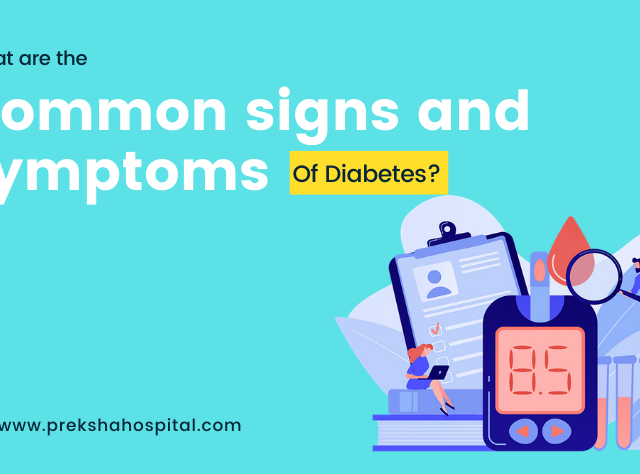 What are the common signs and symptoms of diabetes