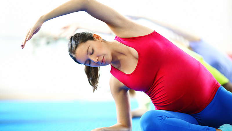 Yoga exercise for normal delivery